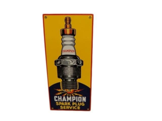 CHAMPION SPARK PLUGS SERVICE SSP SIGN - REPRO