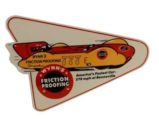 WYNN'S FRICTION PROOFING SSP DIECUT SIGN - REPRO