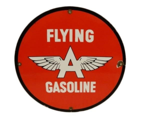 FLYING A GASOLINE SSP PUMP PLATE- REPRO