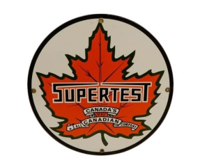 SUPERTEST EARLY GREEN LEAF SSP PUMP PLATE- REPRO