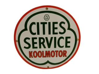 CITIES SERVICE KOOLMOTOR SSP PUMP PLATE- REPRO