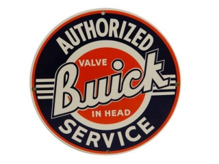 1986 AUTHORIZED BUICK SERVICE SSP SIGN