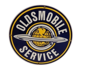 OLDSMOBILE SERVICE SSP SIGN - REPRO