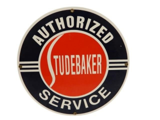 AUTHORIZED STUDEBAKER SERVICE SSP SIGN - REPRO