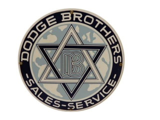 DODGE BROTHERS SALES SERVICE SSP SIGN- REPRO