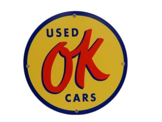 OK USED CARS SSP SIGN - NEW