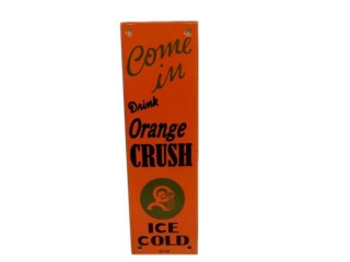 COME IN DRINK ORANGE CRUSH SSP PALM PUSH-REPRO