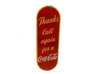 THANKS CALL AGAIN FOR COCA-COLA SSP PALM PRESS