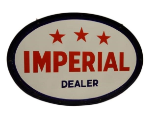 IMPERIAL 3 STAR DEALER DSP SIGN/ BRACKET