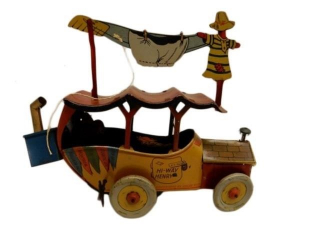 RARE MID 1920'S HI-WAY HENRY TIN LITHO TOY/ NO BOX