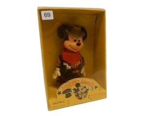 WALT DISNEY MICKEY MOUSE COWBOY/ BOX