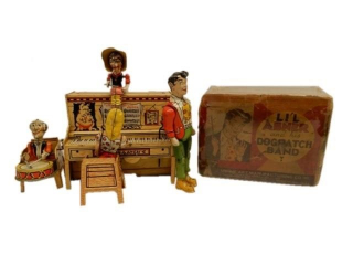 1945 LI'L ABNER DOG PATCH BAND/ ORIGINAL BOX