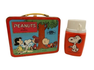 1973 PEANUTS LUCY LUNCH BOX / THERMOS
