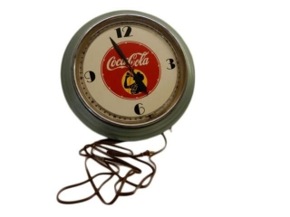 COCA-COLA NEON ELECTRIC CLOCK