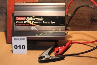 2000w Power Inverter by Coleman