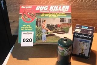Propane Outdoor Fogger & Propane Lantern Lot