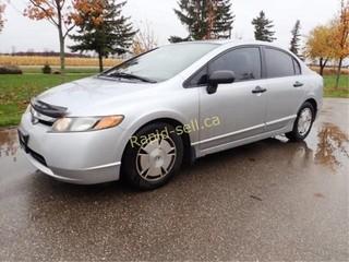 2008 Honda Civic DXG Sedan **CERTIFIED**