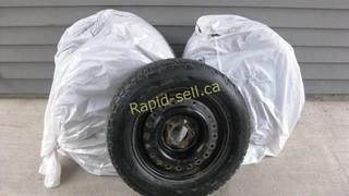 Honda Civic Snow Tires, Five Bolt Rims
