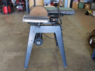 Craftsman belt /disk sander on stand