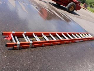 Keller fiberglass ext. ladder