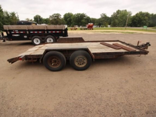 1996 H&S tandem axle trailer