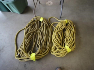 2 rolls of woven rope