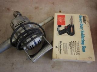 HD drill & Soldering gun