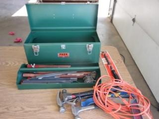 Tool box w/tools