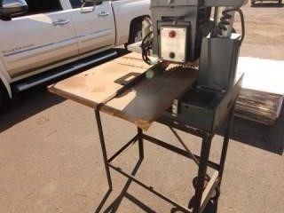 Power Kraft radial arm saw