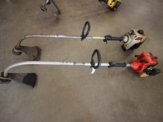2 gas powered weed trimmers