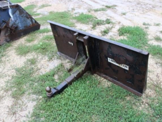 Skidsteer Plate for Receiver Hitch