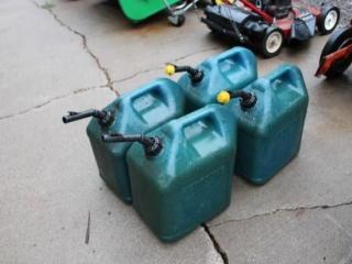 (4) Kerosene Cans