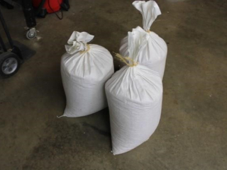 (3) 50 lb. bags of shell corn