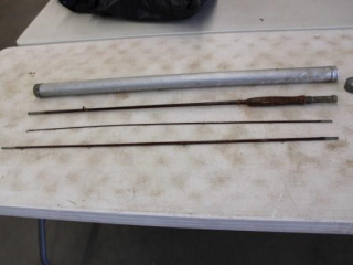 Vintage Split Bamboo Fly Rod