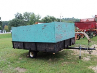 8 x 10 Single Axle Trailer