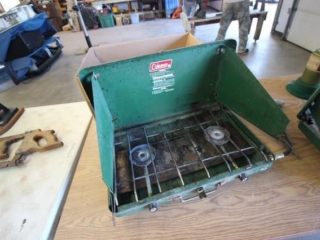 Coleman Stoves & Camping Items