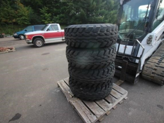 (4) Goodyear Truck Tires