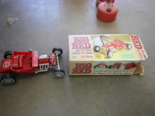 Toy scale model Street Rod