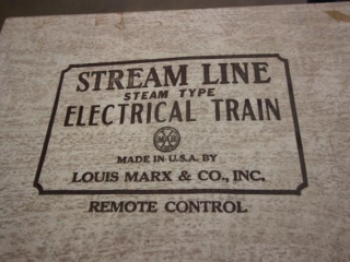Elec. train set & vintage ice skates