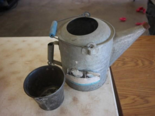 Watering can & sm. pail