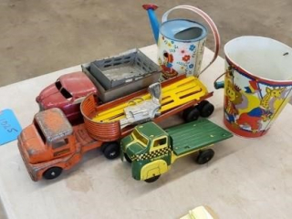 Assort of Antique Toys