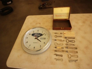 Ford Clock - Beer Bottle Openers
