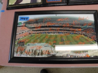 (4) Chicago Bears Plaques/Pictures