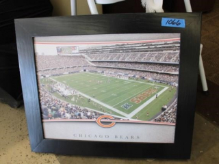 Soldier Field Framed Picture