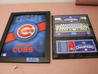 (2) Chicago Cubs Items