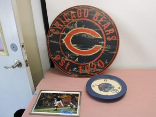 (3) Chicago Bears Items