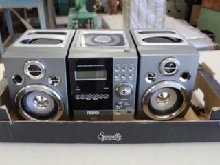 NAXA Micro Music System