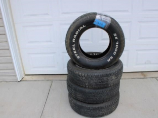 Set 4 - Car Tires