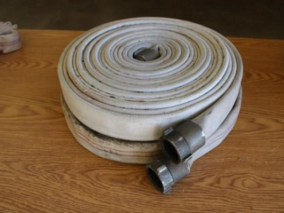 2 rolls of fire hose