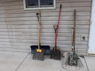 Shovels- Rakes - Garden Tools